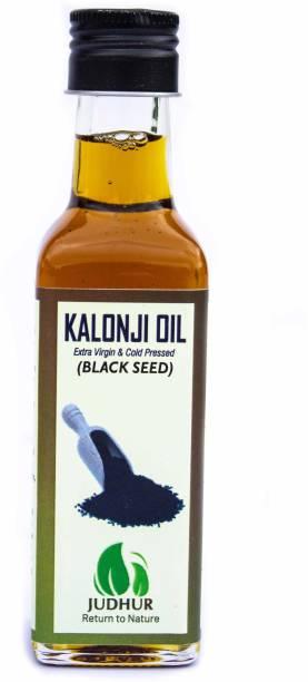 JUDHUR NATURALS Organic Black Seed Oil Or Kalonji Oil Hair Oil