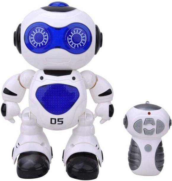 Toy Shack Dancing Robot with Remote Control and Lights Toy for Boys and Girls