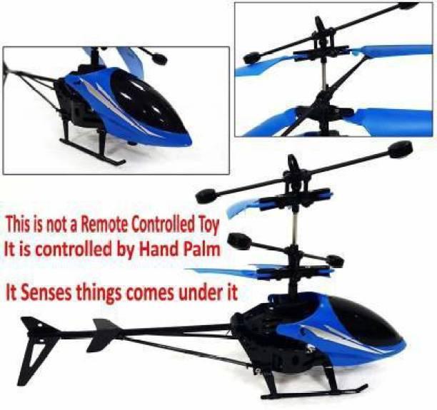 syarol Induction Flying Indoor sensor Helicopter with Remote for kids