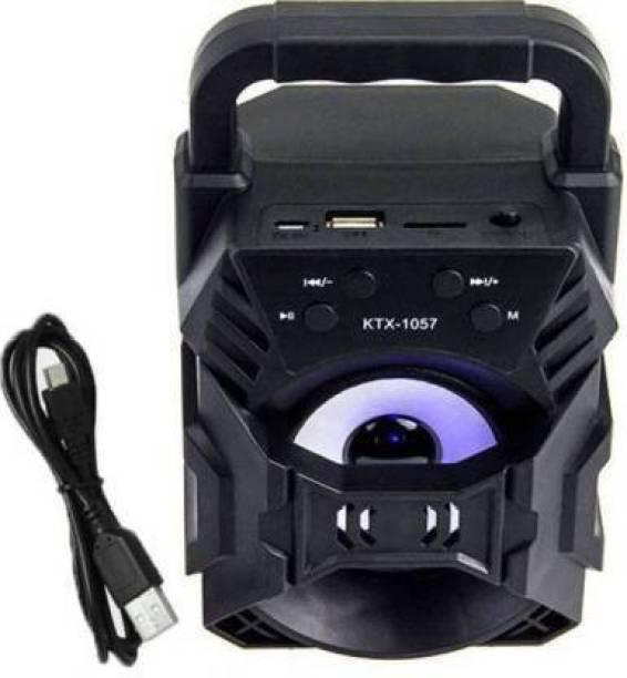 Pradarshan Good Quality USB Charging Stereo Channel YD-668 Bluetooth Big Sound Speaker For Home Theater, Speaker for Mobile, Speaker for Laptop, Speaker for pc 5 W Bluetooth Speaker 5 W Bluetooth Speaker