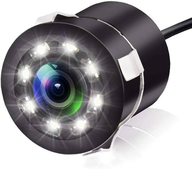 carempire Car Rear View Camera - Backup Camera, Suitable for Car 170° Viewing Angle Night Vision Waterproof, with 8 LED Lights Vehicle Camera System