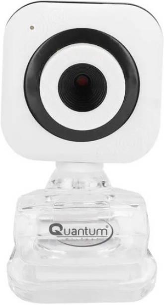 QUANTUM QHM495B white USB webcam for Laptop/computer  Webcam