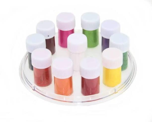 Neckline Multicolor kumkum Forhead Multicolor Bindis