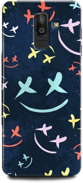 WallCraft Back Cover for Samsung Galaxy On8 MARSHMELLO, DJ, EDM, MUSIC, SMILEY, FUNNY