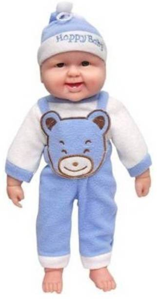 Mt hub Battery Operated Cute Laughing Boy (Blue)