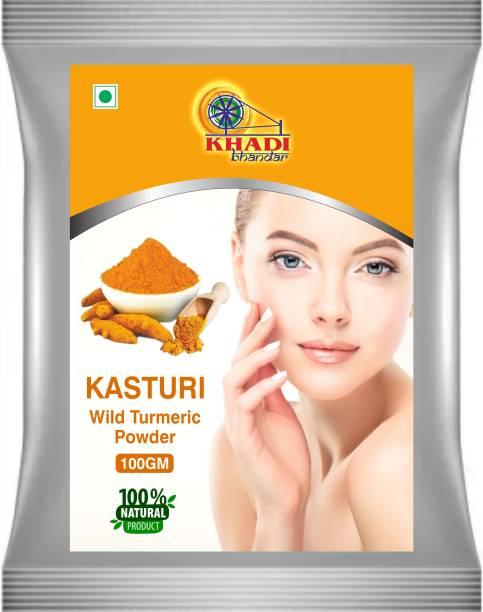 KHADI BHANDAR Kasturi Haldi Face Pack Powder