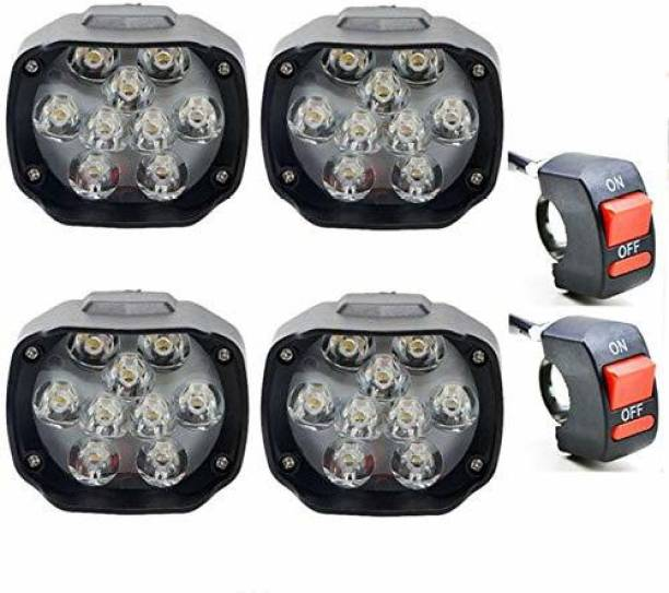 BOOSTY LED Fog Lamp Unit for Hero, Honda, Yamaha 4 Series