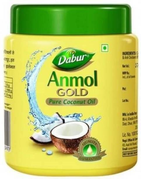 Dabur Anmol Gold Pure Coconut Oil (500ml) Hair Oil