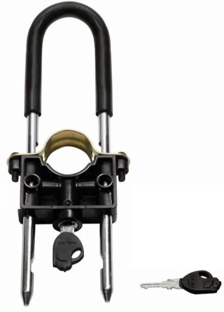 Biking Hub Iron Key Lock For Helmet