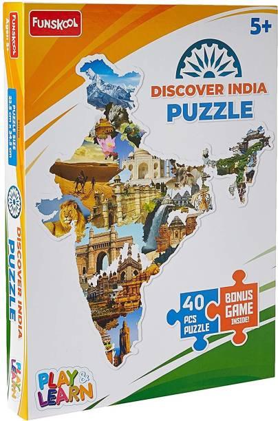 FUNSKOOL Discover India Puzzle
