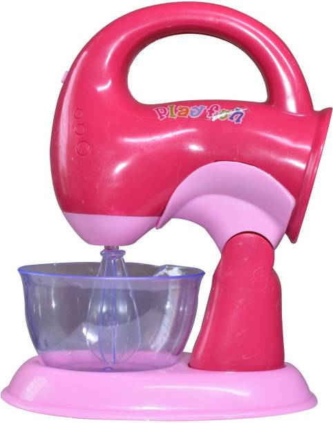 Toy Shack Constructive Playthings Appliances Toy Mixer for Toy Kitchens with Realistic Sounds and Lights Toy for Kids