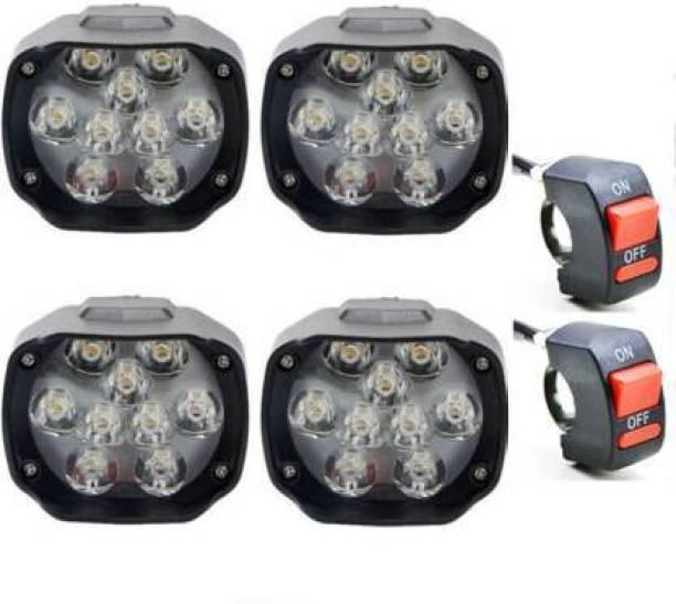 RA ACCESSORIES LED Fog Lamp Unit for Universal For Car Universal For Car