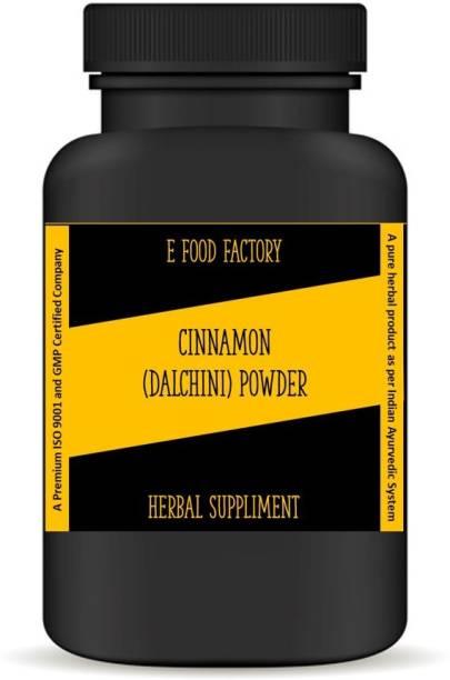 E Food Factory Cinnamon (Dalchini) (Ayurvedic) Powder