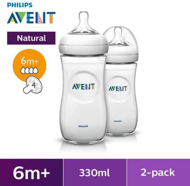 Philips Avent Natural Feeding Bottle Twin Pack 330ml - 330 ml