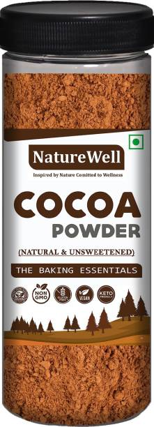 Naturewell 100% Natural Unsweetened Cocoa Imported Cocoa Powder