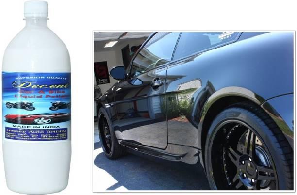 Decent Liquid Car Polish for Leather, Tyres, Metal Parts, Dashboard, Exterior