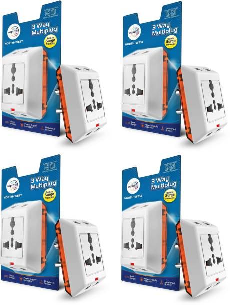 Wipro North West 3 Way Multiplug_4 Three Pin Plug