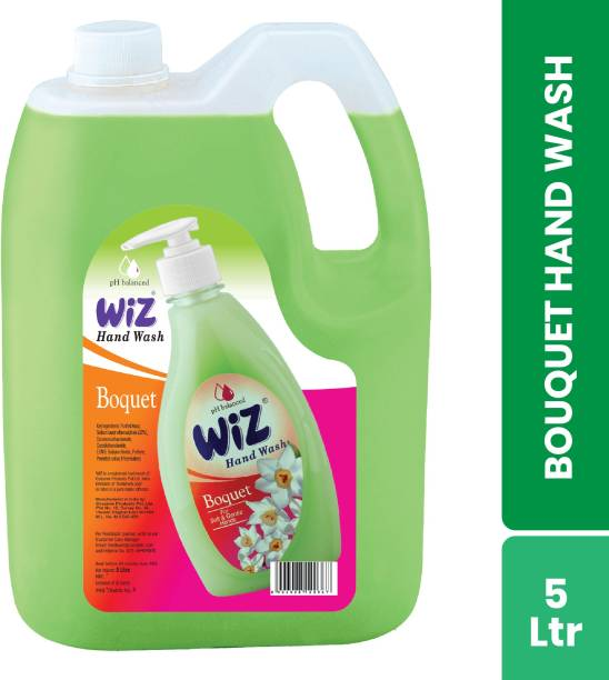 Wiz pH-Balanced Hand Care Boquet Liquid Hand Wash Can