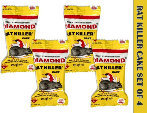 DIAMOND RAT KILLER Cake Biscuit Poison Rodent Mouse Mice Control (25 g)