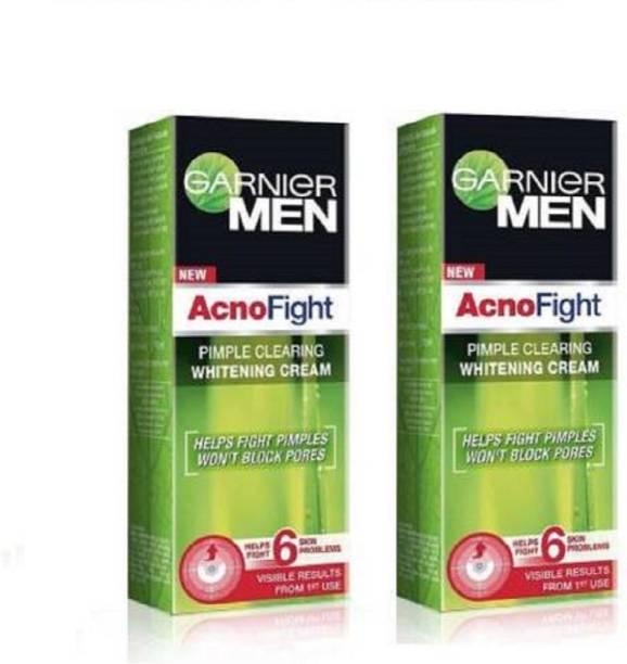 GARNIER Men Acno Fight whitening cream 45g pack of 2