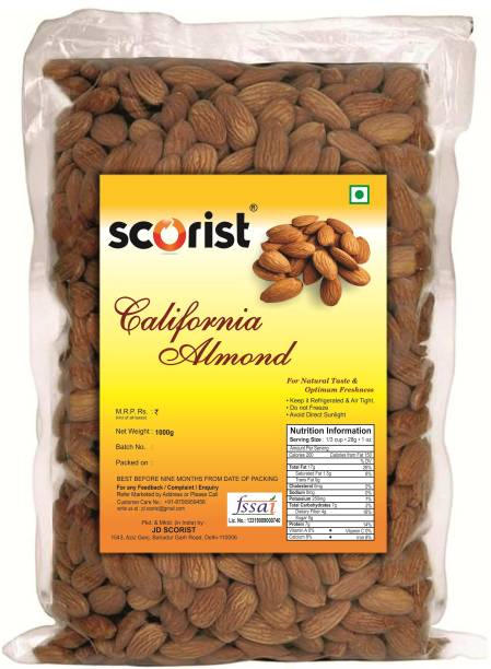 Scorist California 1kg Almonds