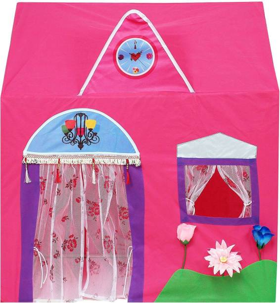 Royal Kano Jumbo Size Queen Palace Tent House For Kids (Pink)
