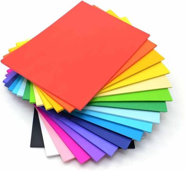 Flipkart SmartBuy 150 GSM 50 SHEETS Unruled A4 150 gsm Coloured Paper