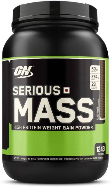 Optimum Nutrition (ON) Serious Mass High Protein and High Calorie Powder Weight Gainers/Mass Gainers