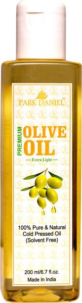 PARK DANIEL Extra Light Olive Oil-100 % Pure and Natural(200 ml) Hair Oil