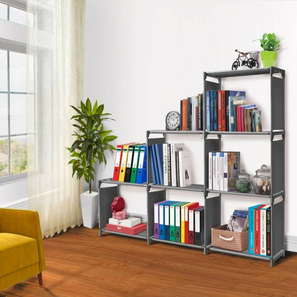 FURIONE 9 SHELVE MULTIPURPOSE Metal Open Book Shelf