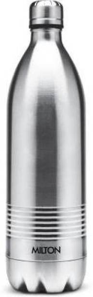 MILTON Duo DLX 1000 ml Flask, Silver 1000 ml Bottle