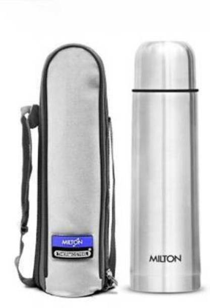MILTON Thermosteel Flip Lid 1000 ML Flask (24hrs Hot & 24hrs Cold) 1000 ml Flask 1000 ml Flask