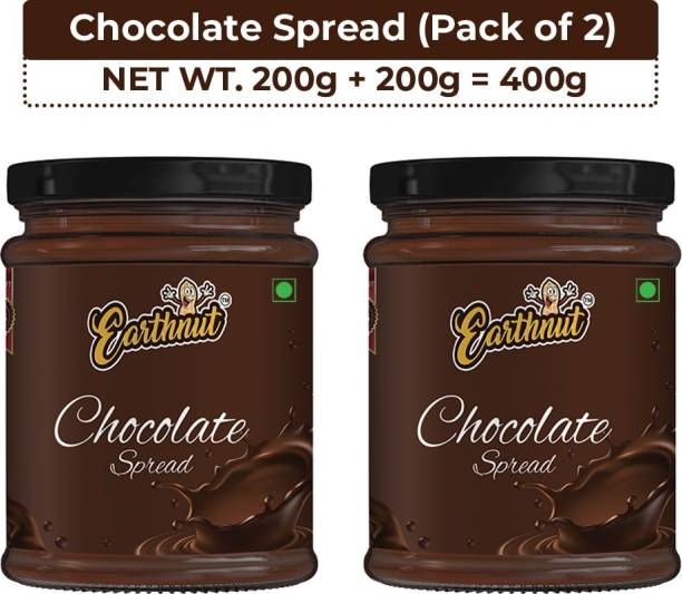 Earthnut Chocolate Spread (200g + 200g) 400 g