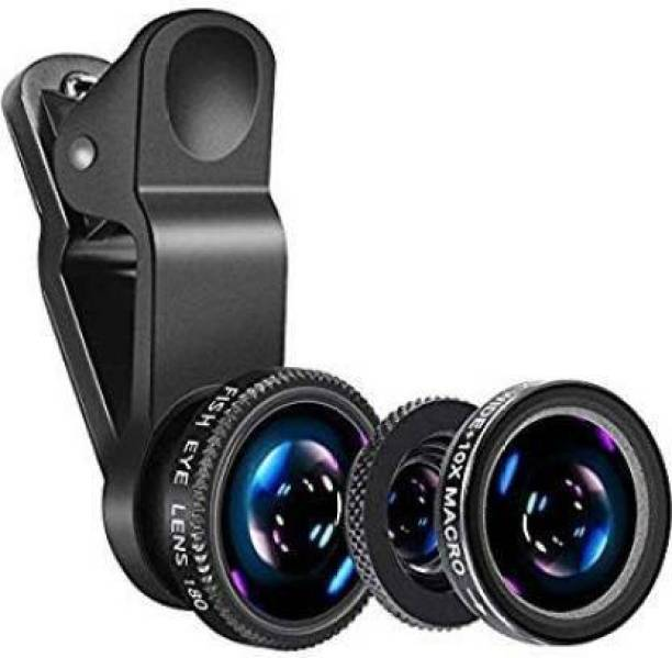 MerePere Mobile Photography Lens , Mobile Camera Lens Clip-On 3 in 1 Kit, Mobile Phone Lens Mobile Phone Lens