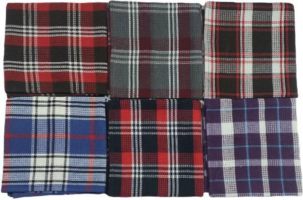 VEL MULTI COLOR KITCHEN , DINING TOWEL 6pc set Multicolor Napkins