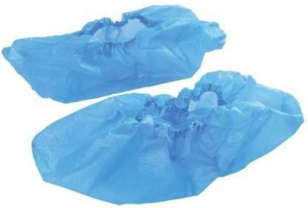 E-Shoppe ESSC_008 POLY SHOE COVER PP (Polypropylene) BLUE Flat Shoe Cover