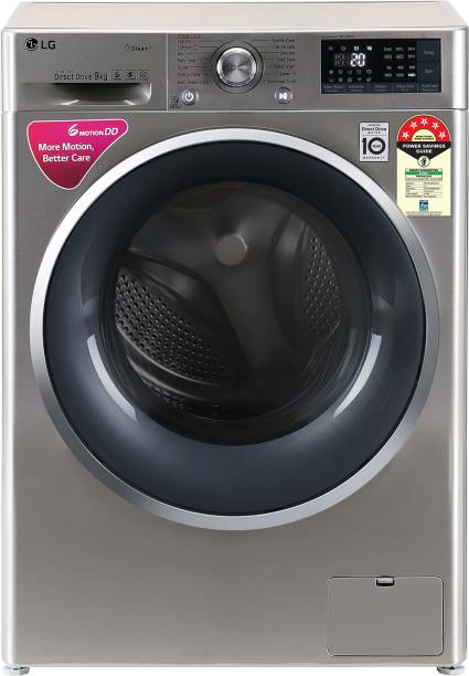 LG 9 kg 5 Star Fully Automatic Front Load with In-built Heater Grey
