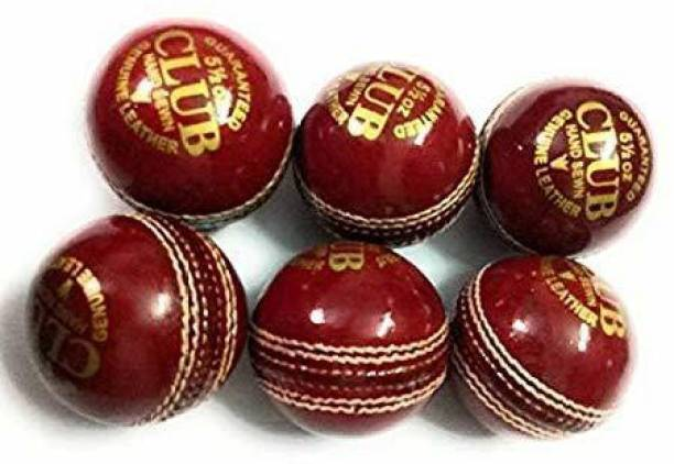 RIO PORT Club Leather Ball - Pack of 6 Baseball