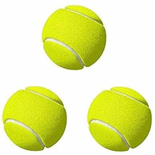RIO PORT Cricket Tennis Ball Pack of 3 Baseball