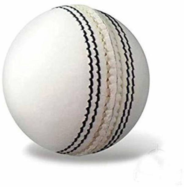 RIO PORT Leather Cricket Ball White Baseball