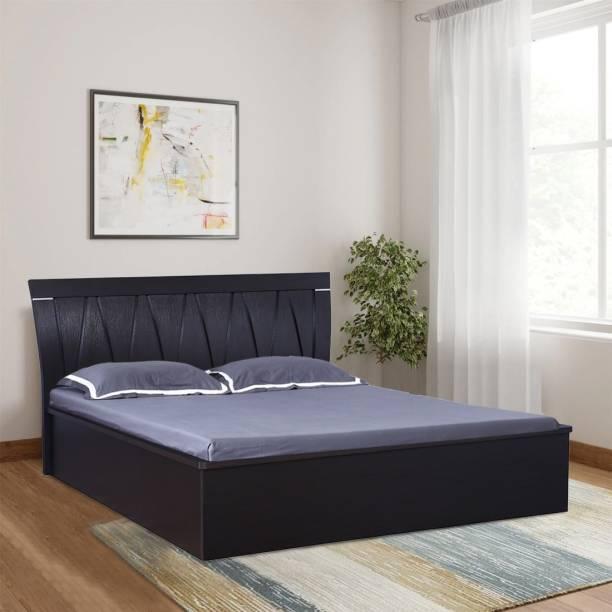 Hometown Engineered Wood Queen Hydraulic Bed