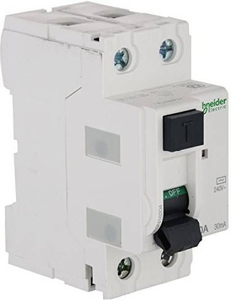 schneider electrical Rccb (Polycarbonate, White) A9N204 MCB