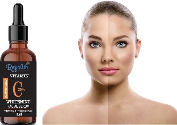 Regolith Vitamin C Skin Brightening, Anti Aging, Spotless Skin,Sun Protection, Under Eye Circles, Facial Serum