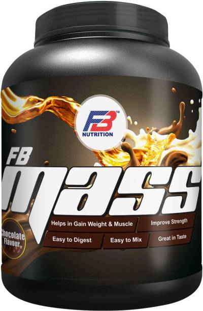 FB Nutrition FBN MASS 3000 CHOCOLATE Weight Gainers/Mass Gainers