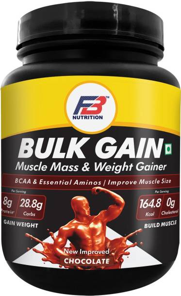 FB Nutrition Bulk Gain Weight & Build Muscle, Muscle Mass &Weight Gainer,BCAA &Essential Aminos Weight Gainers/Mass Gainers