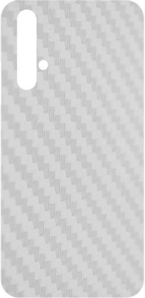 PNBEE Back Screen Guard for Huawei Nova 5T- Carbon Fiber Transparent Back Guard