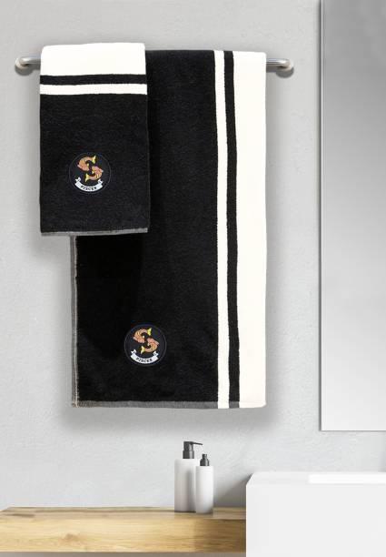 TRIDENT Cotton 550 GSM Bath Towel Set