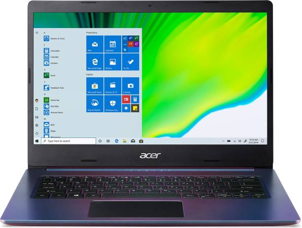 acer Aspire 5 Core i3 10th Gen - (4 GB + 32 GB Optane/512 GB SSD/Windows 10 Home) A514-53-316M Thin and Light Laptop