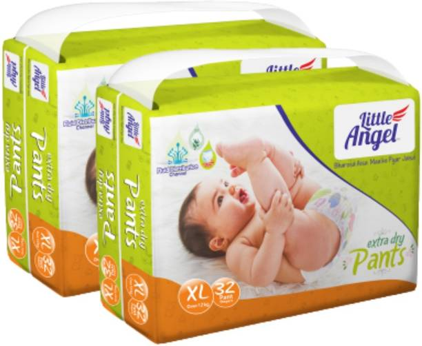 Little Angel Baby Diaper Pants (2 x 32 Pcs) - XL