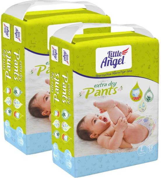 Little Angel Baby Diaper Pants (2 x 48 Pcs) - L